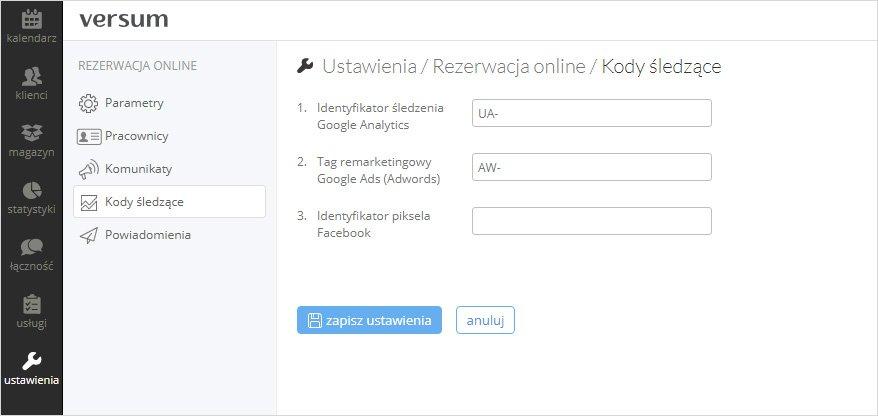 kody remarketingowe wmoment.pl