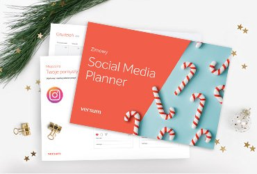 zimowy planner social media